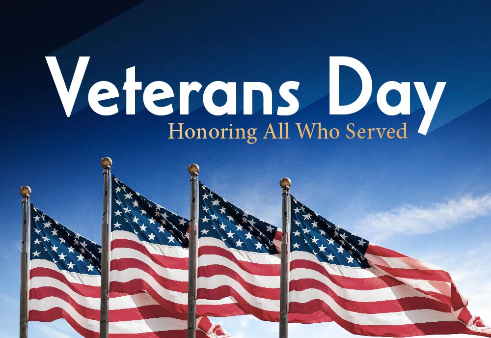 Veterans Day - Offices Closed